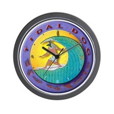 2-tidalclockLG Wall Clock
