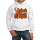Leukemia mom Hooded Sweatshirt