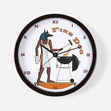 fireclockLG Wall Clock
