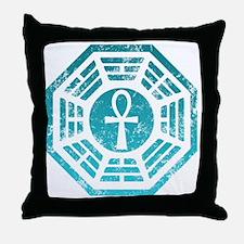 Dharma Ankh Throw Pillow