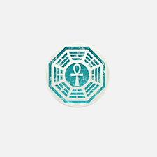 Dharma Ankh Mini Button