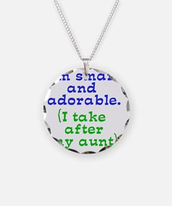 smart-and-adorable Necklace Circle Charm