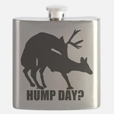 Mule deer hump day Flask