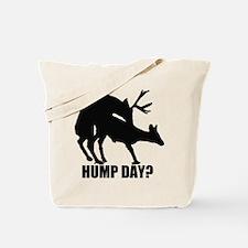 Mule deer hump day Tote Bag