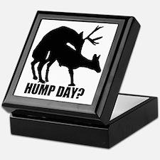 Mule deer hump day Keepsake Box
