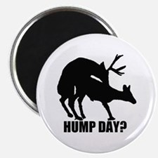 "Mule deer hump day 2.25"" Magnet (10 pack)"