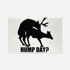 Mule deer hump day Rectangle Magnet (10 pack)
