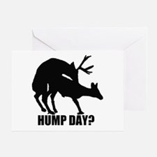 Mule deer hump day Greeting Card