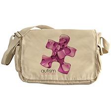 2-puzzle-v2-pink Messenger Bag