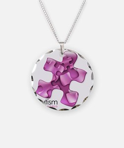 2-puzzle-v2-pink Necklace Circle Charm
