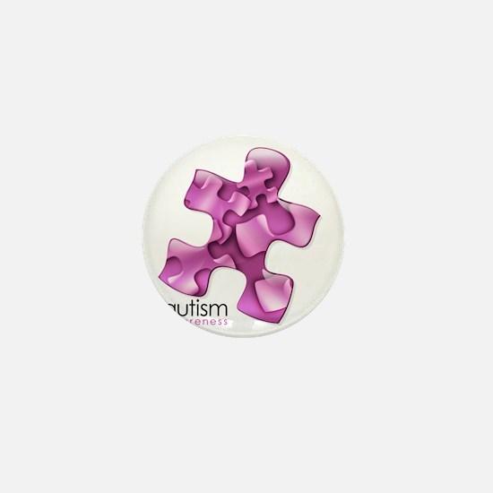2-puzzle-v2-pink Mini Button