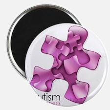2-puzzle-v2-pink Magnet