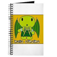 Cute Hello cthulhu Journal