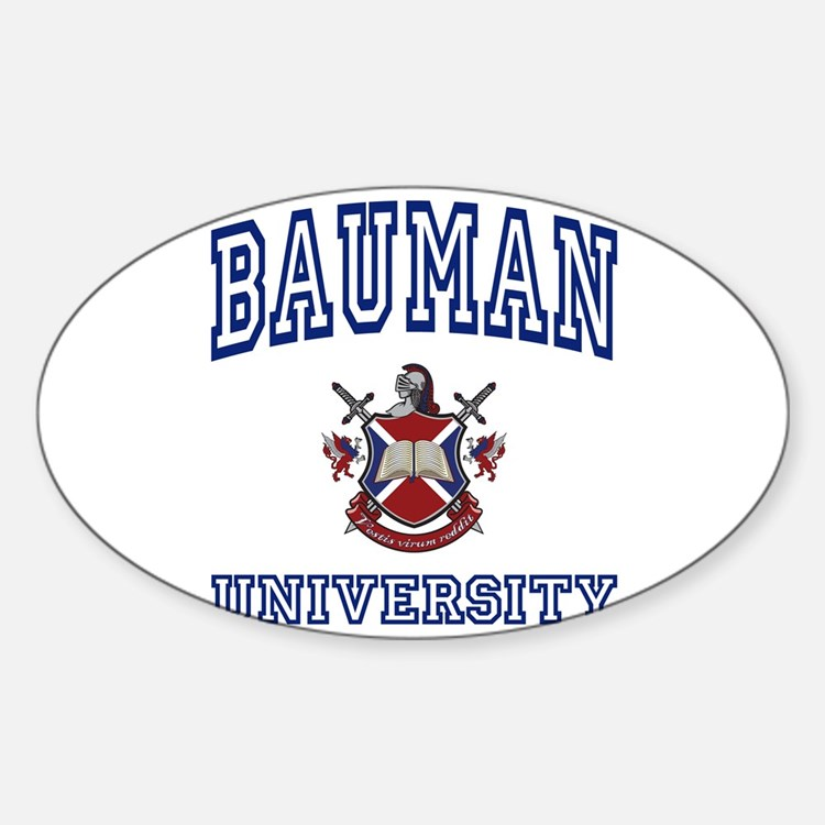 BAUMAN University Oval Decal