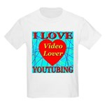 I Love YouTubing Video Lover Kids T-Shirt