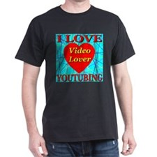 I Love YouTubing Video Lover T-Shirt