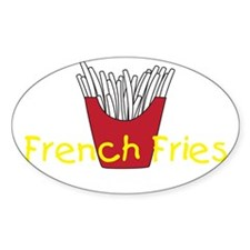 French Friesxdark Decal
