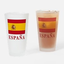 2-Flag_of_Spain3 Drinking Glass
