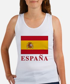 2-Flag_of_Spain3 Women's Tank Top