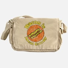 Bacon is Meat Candy vintage 1 Messenger Bag