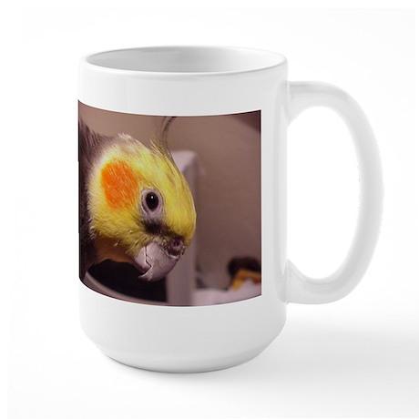 The Happy Cockatiel Large Mug