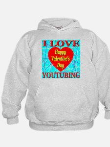 I Love YouTubing Hoodie
