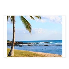 Palm Tree Paradise Postcards (Package of 8)
