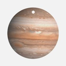 Jupiter Planet Christmas Tree Ornament (Round)