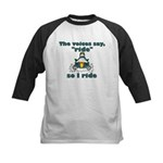 Voices Say Ride Kids Baseball Jersey