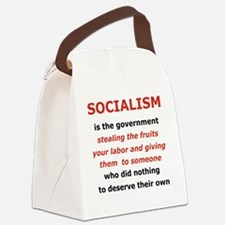 2-SOCIALISM IS THE GOVERNMENT STE Canvas Lunch Bag