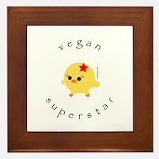 Vegan Superstar Framed Tile