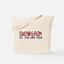 Snowgasm #2 Tote Bag