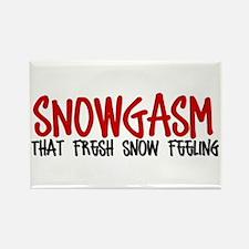 Snowgasm #2 Rectangle Magnet