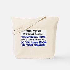 Garage Room? Tote Bag