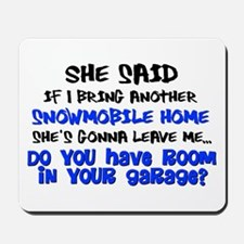 Garage Room? Mousepad