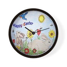 easter apparel Wall Clock