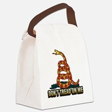 Dont Tread On Me 6x6 Canvas Lunch Bag