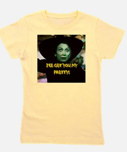 I'LL GET YOU MY PRETTY(button) Girl's Tee
