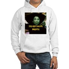 I'LL GET YOU MY PRETTY(button) Hoodie