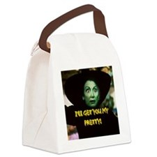 I'LL GET YOU MY PRETTY(button) Canvas Lunch Bag