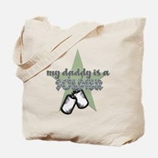 Daddy is a Soldier Boy Tote Bag