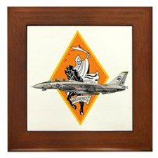 VF-142 Ghostriders Framed Tile