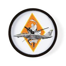 VF-142 Ghostriders Wall Clock