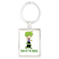 Year of the Snake Portrait Keychain