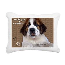 stbernardimadeyouacookie Rectangular Canvas Pillow