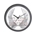 Until You Spread Your Wing's. Wall Clock