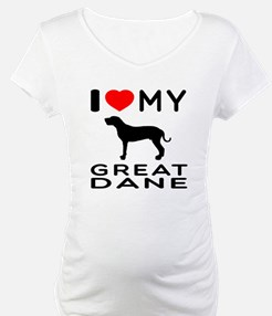 I Love My Great Dane Shirt