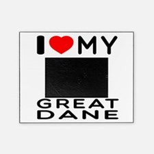 I Love My Great Dane Picture Frame