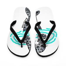 i love seals Flip Flops