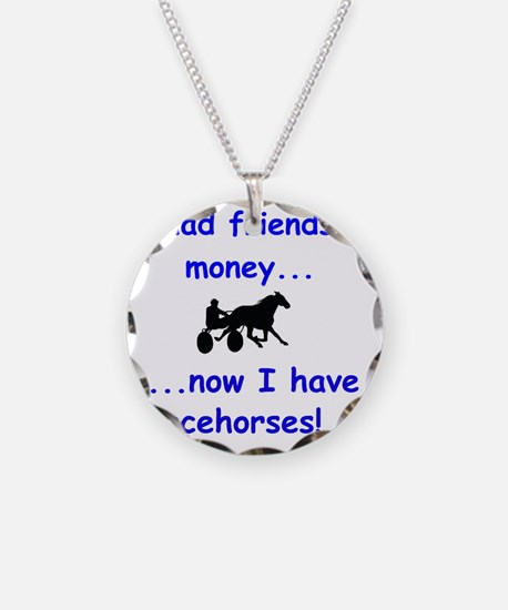 race horse Necklace